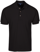 Basketball Cotton Pique Knit Polo