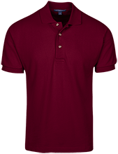 East Central Middle School Hornets Cotton Pique Knit Polo