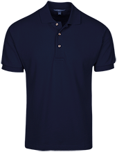 Lansing Eastern High School Quakers Cotton Pique Knit Polo
