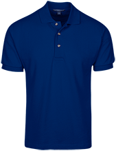 East Taylor Elementary School Blue Jays Cotton Pique Knit Polo