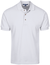 Saint Monica School School Cotton Pique Knit Polo