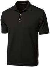 Lakes Elementary School Leopards Dri-Mesh Short Sleeve Polos