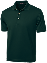 Madison Comprehensive High Rams Dri-Mesh Short Sleeve Polos