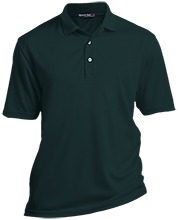 The Computer School Terrapins Tall Dri-Mesh Short Sleeve Polos