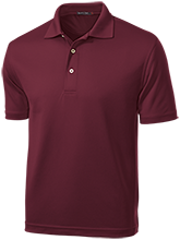 Chestnut Log Middle School Bears Dri-Mesh Short Sleeve Polos