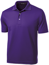 Blue Springs High School Wildcats Dri-Mesh Short Sleeve Polos
