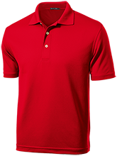 Huntington High School Red Devils Dri-Mesh Short Sleeve Polos