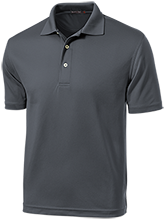 Longview School School Dri-Mesh Short Sleeve Polos