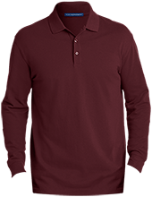 Shepherd Of The Valley Lutheran Men's EZCotton™ Long Sleeve Polo