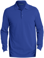 Malverne High School Men's EZCotton™ Long Sleeve Polo