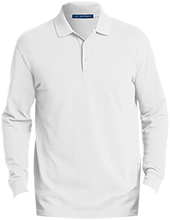 Rancho High Alumni Rams Men's EZCotton™ Long Sleeve Polo