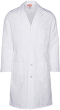 North Sunflower Athletics Lab Coat