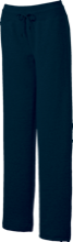 Saunders Trades & Tech High Sch Blue Devils Ladies Custom Open Bottom Sweats