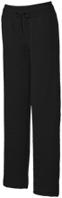 Harlan Elementary School Hawks Ladies Custom Open Bottom Sweats