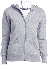 Friends School Quakers Ladies Full-Zip Hoodie