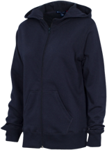 Westbury Christian School Wildcats Ladies Full-Zip Hoodie