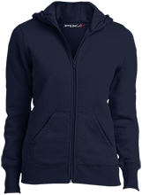 Emerson Elementary School Trojans Ladies Full-Zip Hoodie