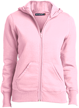 Alfred Lawless Senior High Pythians Ladies Full-Zip Hoodie