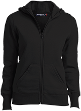 Colma Elementary School Cougars Ladies Full-Zip Hoodie