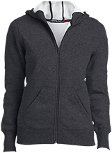 Montessori Circle Of Friends School Ladies Full-Zip Hoodie