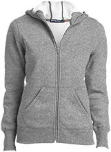 High School Ladies Full-Zip Hoodie