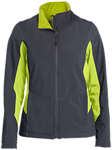 Weyauwega MS School Ladies Colorblock Soft Shell Jacket