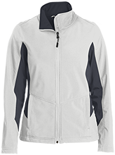 Roosevelt Middle School School Ladies Colorblock Soft Shell Jacket
