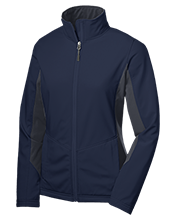 Cross Lanes Christian School Warriors Ladies' Colorblock Soft Shell Jacket