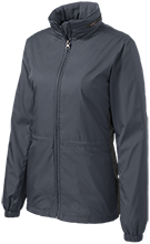 Academy At The Farm School Ladies Core Colorblock Wind Jacket