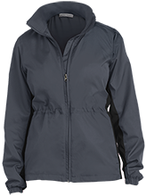 Harrison Elementary School Hawks Ladies Core Colorblock Wind Jacket