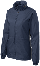 Montpelier Schools Locomotives Ladies Core Colorblock Wind Jacket