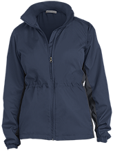 Manhattan Ctr Math & Science Rams Ladies Core Colorblock Wind Jacket