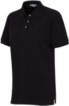 Clay Springs Elementary School Black Bears Ladies Cotton Pique Knit Polo