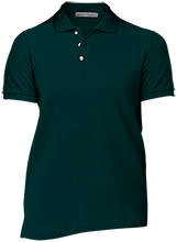 Troy Christian High School Eagles Ladies Cotton Pique Knit Polo