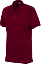 Ridge Elementary School Raccoons Ladies Cotton Pique Knit Polo