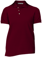Madison Academy Mustangs Ladies Cotton Pique Knit Polo