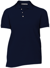 A R Carethers Academy Eagles Ladies Cotton Pique Knit Polo