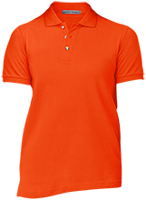 Lincoln Elementary School Bullpups Ladies Cotton Pique Knit Polo