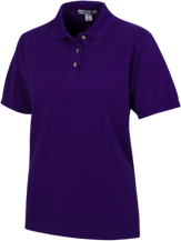 A H Parker High School Bison Ladies Cotton Pique Knit Polo