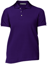 Patterson Elementary School Panthers Ladies Cotton Pique Knit Polo
