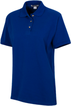 Ascension School Longhorns Ladies Cotton Pique Knit Polo
