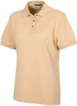 Anansi Charter School Ladies' Cotton Pique Knit Polo