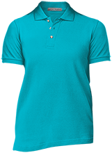 Swinburne Elementary School Roadrunners Ladies Cotton Pique Knit Polo