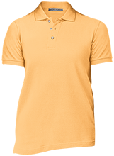 A B McDonald Elementary School Mcdonald Ducks Ladies Cotton Pique Knit Polo