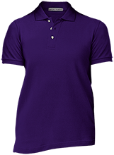 Trinity Christian High School Crusaders Ladies Cotton Pique Knit Polo