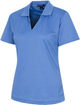 Lynn Elementary School Eagles Ladies Dri-Mesh Short Sleeve Polos