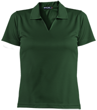 Main Street Middle School Gators Ladies Dri-Mesh Short Sleeve Polos