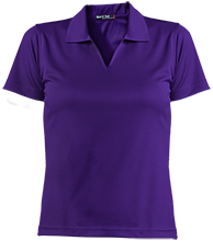 A H Parker High School Bison Ladies Dri-Mesh Short Sleeve Polos