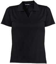 Manchester East Soccer Ladies Dri-Mesh Short Sleeve Polos