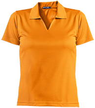 A R Carethers Academy Eagles Ladies Dri-Mesh Short Sleeve Polos